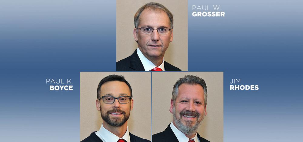 Paul W Grosser - Paul K Boyce - Jim Rhodes
