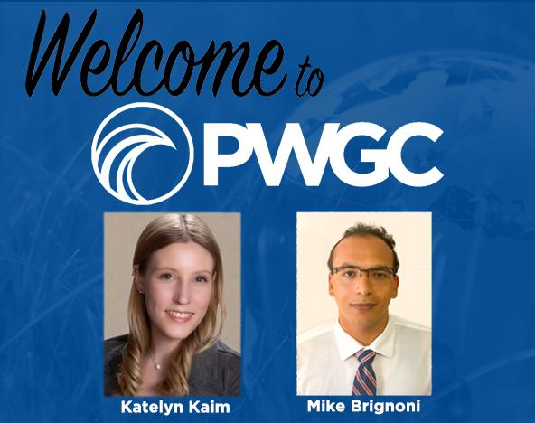 PWGC Adds Two New Hires: Katelyn Kaim and Mike Brignoni