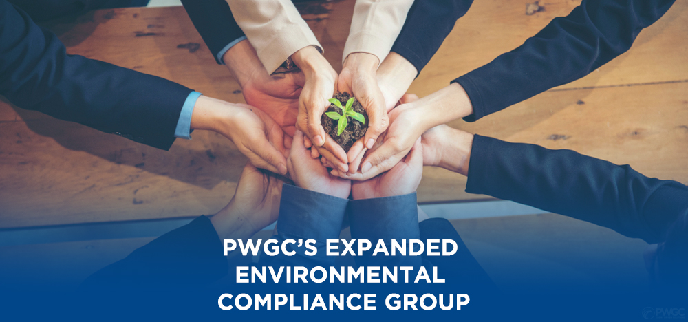 PWGC's Expanded Environmental Compliance Group