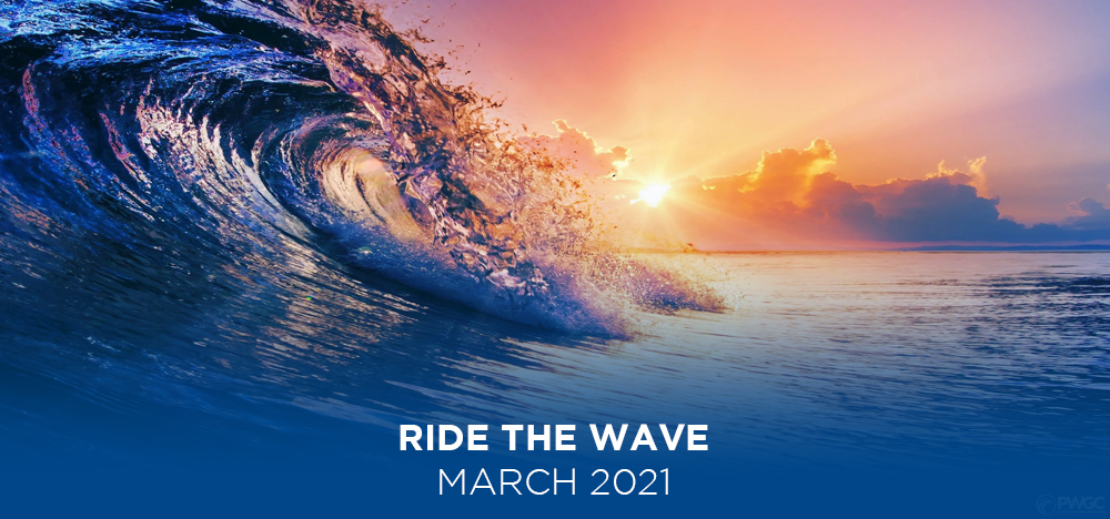 Ride the Wave March 2021