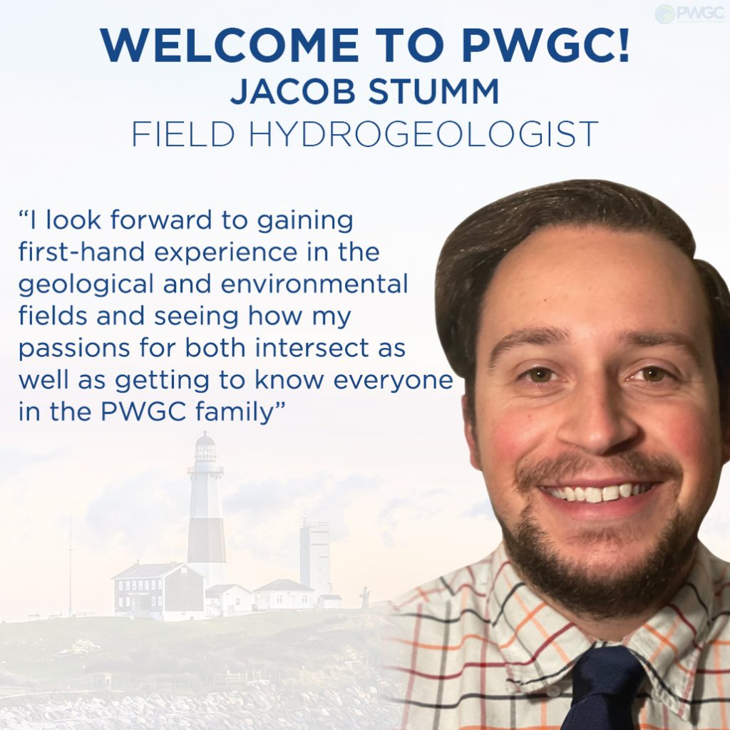 PWGC Welcomes Jacob Stumm, Field Hydrogeologist