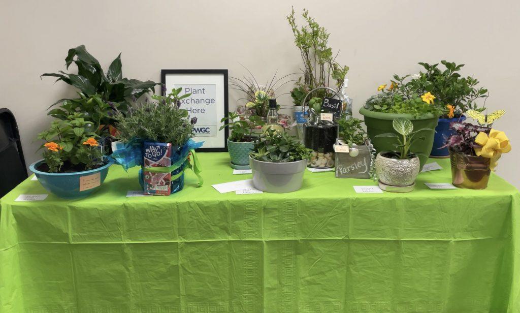 PWGC Celebrates Earth Day - Plant Exchange