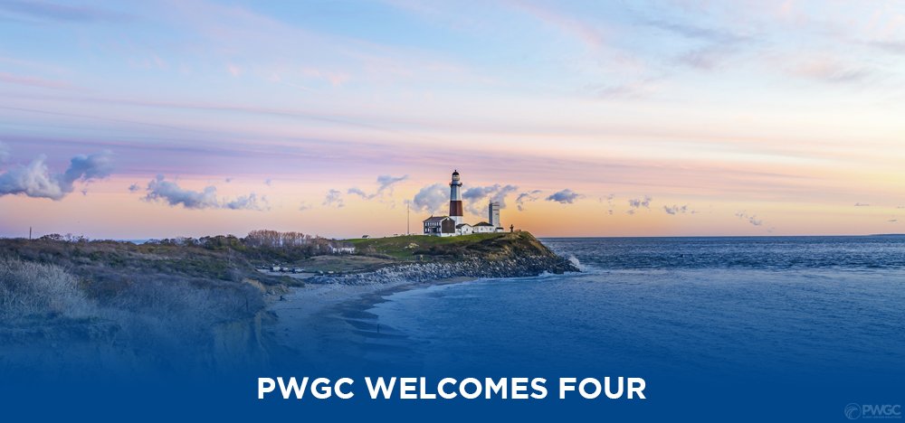 PWGC WELCOMES FOUR NEW HIRES