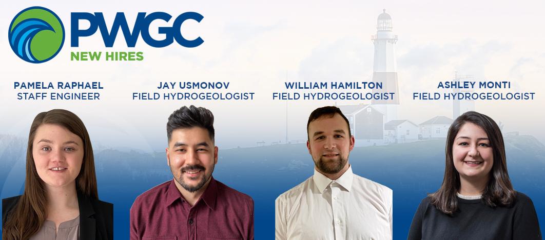 PWGC Four New Hires - Pamela Raphael, Jay Usmonov, William Hamilton, Ashley Monti
