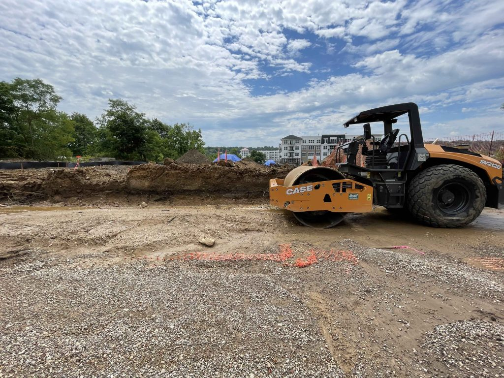 Construction Site for New Affordable Housing Project at Garvies Point