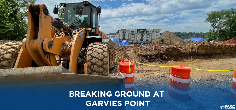 Groundbreaking Ceremony for a new affordable housing project at Garvies Point, Glen Cove, NY