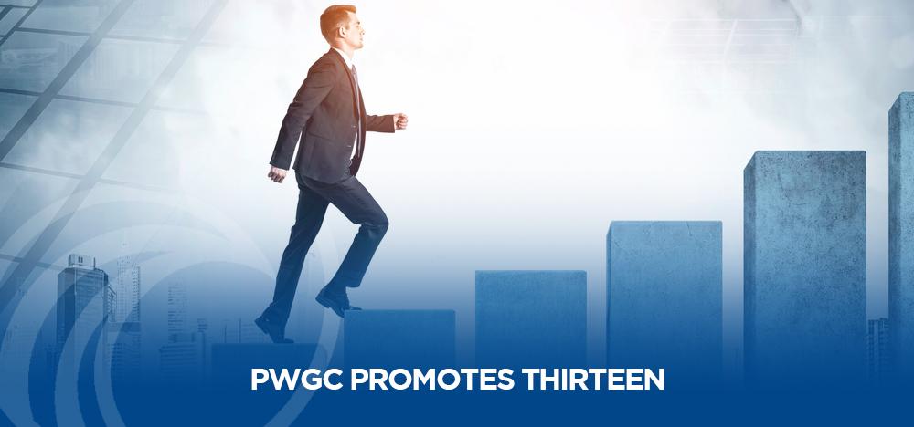 PWGC Promotes Thirteen