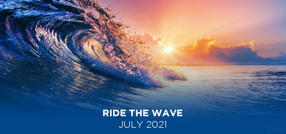 ride the wave - july 2021