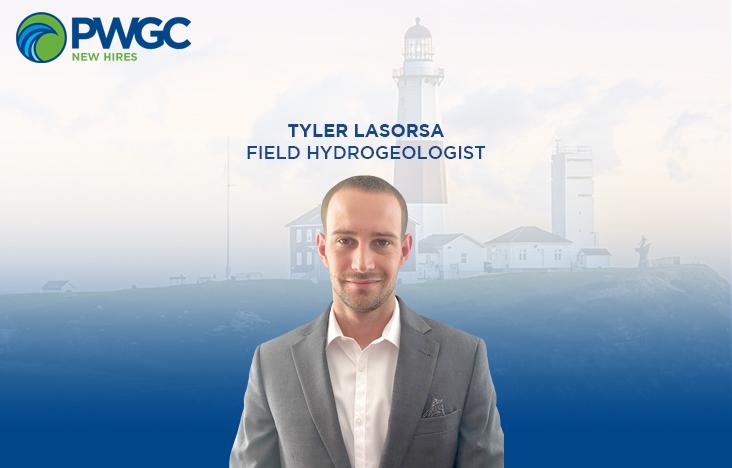PWGC new hire, Tyler LaSorsa, Field Hydrogeologist